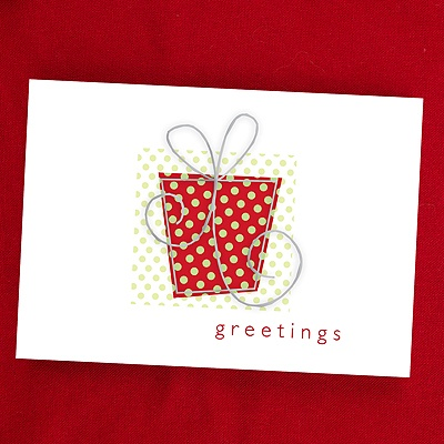 Gift of Greetings Holiday Card